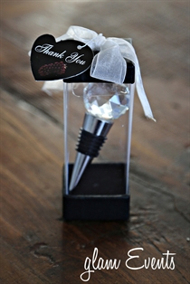 Picture of Crystal Ball Wine Stopper