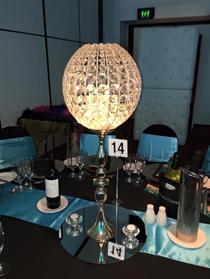 Picture of Gold Table Pedestal