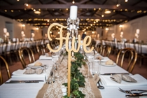 Picture of Table Numbers